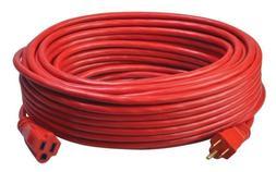 Coleman Cable 02409 14/3 SJTW Vinyl Outdoor Extension Cord,