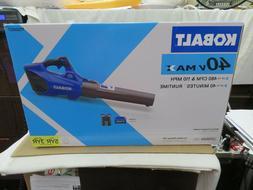 Kobalt #1130007 40V MAX Cordless Blower Kit- Battery & Charg