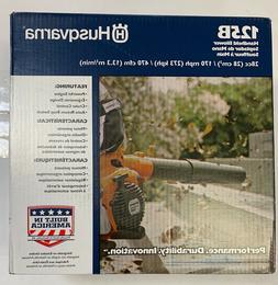 Husqvarna 125B 28-cc 2-Cycle 170-MPH Handheld Gas Leaf Blowe