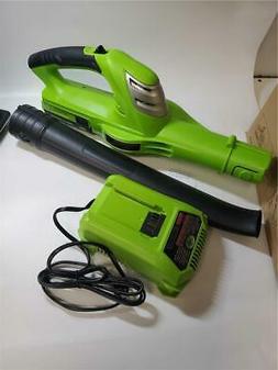 Best Partner 18V 130MPH Cordless Leaf Blower,Light-Weight,Si