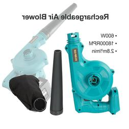 2 in 1 Cordless Leaf Dust Blower For Makita 18V Lithium Batt