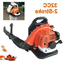 2-Stroke 32CC Gas Backpack Leaf Blower Powered Debris With P