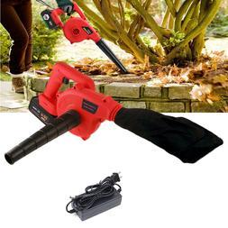 20V Cordless Brushless Leaf Blower w/ 12800mAh Battery & Cha