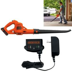 20V Cordless Leaf Blower Sweeper With Lithium Battery Powere