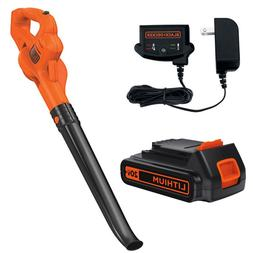 20V Cordless Leaf Blower With Lithium Battery And Charger Lo
