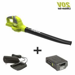Sun Joe 20VIONLTE-BLW 2.0-Amp 20-Volt Cordless Blower/Sweepe