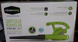 Greenworks 24012 7 Amp Single Speed Handheld Electric Blower