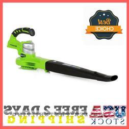 24V 24-Volt ONE+ Compact Leaf Blower/ Sweeper, No Battery &