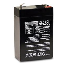 Universal Power Group 6V 3.2Ah SLA Battery for Tote A Neb LC