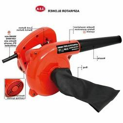 3.5A 200MPH Air Speed Corded Electric Leaf Blower Sweeper Va