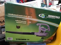 Earthwise 3-in-1 Corded Leaf Blower Vacuum Mulcher  Outdoor