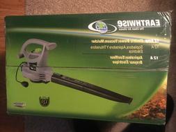 Earthwise 3-in-1 Leaf Blower-Vacuum-Mulcher