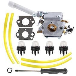 Mckin 308054079 Carburetor with Adjustment Tool Fuel Line fo
