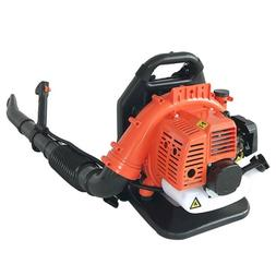 32CC 2-Stroke Gas Backpack Leaf Blower Powered Debris Padded