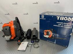 Husqvarna 360BT, 65.6cc 2-Cycle Gas 631 CFM 232 MPH Backpack