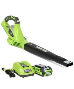 Greenworks 40V 150 MPH Variable Speed Cordless Leaf Blower w