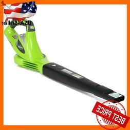 Greenworks 40V 150 MPH Variable Speed Leaf Cordless Blower N