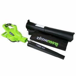 Leaf Blower Vacuum Mulcher Brushless Motor 6 Speed Battery P