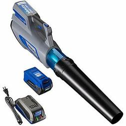 40V Cordless Leaf Blower, 4.0 Ah Battery Charger Included Ga