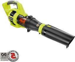 RYOBI Cordless Leaf Blower 480 CFM 40V Lithium-ion Adjustabl
