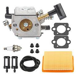 Mckin HD-4A HD-4B HD-13B Carburetor with Air Filter Tune Up