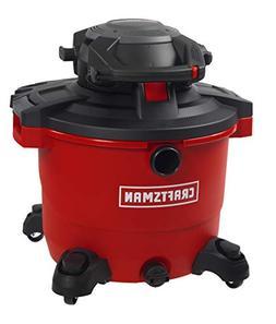 CRAFTSMAN 17607 16 Gallon 6.5 Peak HP Wet/Dry Vac with Detac