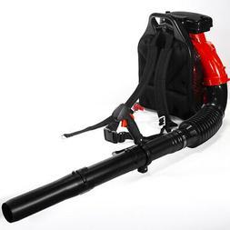 79.4CC 2-Stroke Backpack Leaf Blower Debris Gas Powered w/ H