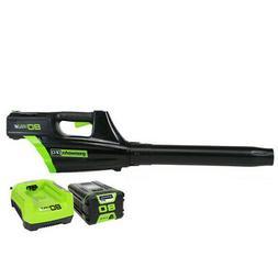 Greenworks 80V DigiPro Li-Ion 3-Speed Jet Leaf Blower Kit 24
