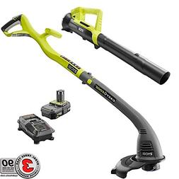 Ryobi One ONE+ 18-Volt Lithium-Ion String Trimmer/Edger and