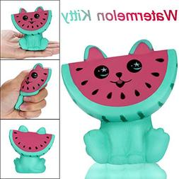 adorable squishies watermelon kitty slow