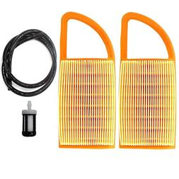 AISEN PACK OF 2 AIR FILTER FOR STIHL BR600 BR550 BR500 BACKP