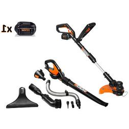 Worx Air 32V GT 2.0 Grass Trimmer and Air Blower Cordless El