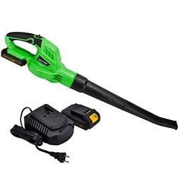 20V Cordless Blower with 2.0A Platform Battery and Charger U