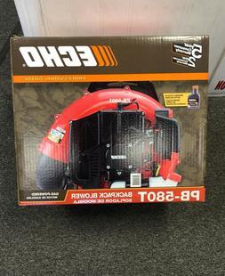 ECHO Backpack Leaf Blower 215MPH Gas Tube Throttle Adjustabl
