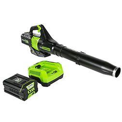 Greenworks BL80L2510 80V Jet Electric Leaf Blower
