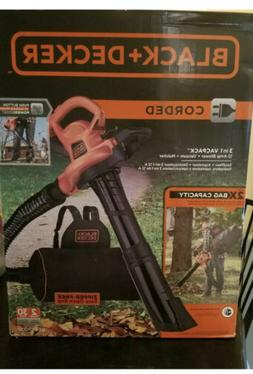 Black & Decker Leaf Blower, Vacuum and Mulcher BEBL7000 New
