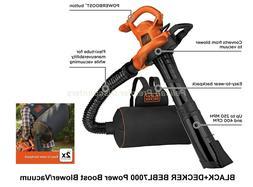 Black & Decker Leaf Blower, Vacuum and Mulcher 3 in 1 Vacpac