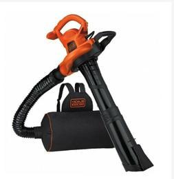 black and decker leaf blower vacuum