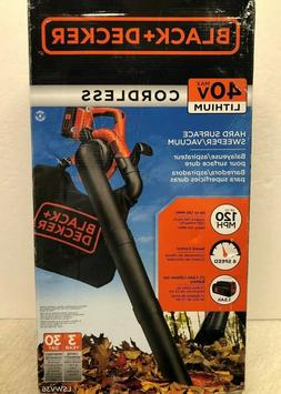 BLACK & DECKER LSWV36 40V MAX Handheld Cordless Sweeper Blow