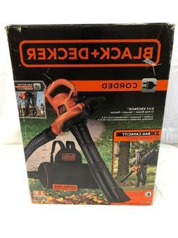 BLACK+DECKER 12-Amp 400-CFM 250-MPH Corded Electric Leaf Blo