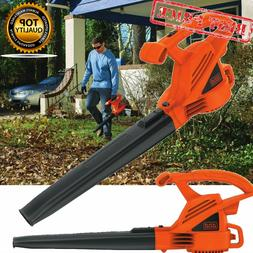 BLACK DECKER Electric Leaf Blower Corded 7 Amp 180 MPH All-P