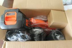 BLACK+DECKER Handheld Leaf Blower Sweeper 120 MPH 40 Volt Co