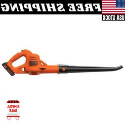 BLACK+DECKER LSW221 20V Max Lithium-Ion Cordless Sweeper NEW