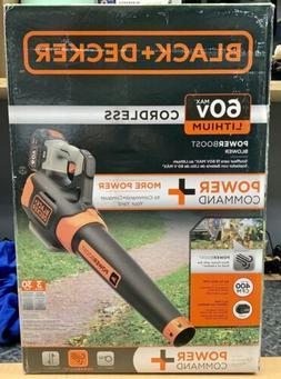 BLACK+DECKER LSW60C 60V Max Power Boost Blower, Leaf Blower