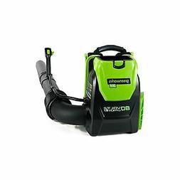GreenWorks BPB80L00 80V 145MPH - 580CFM Cordless Backpack Bl