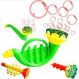 RONSHIN Outdoor Children's Toy Water Blowing Toy Bubble Soap