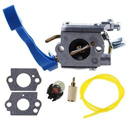 HIPA C1Q-W37 Carburetor with Fuel Line Hose Filter for Husqv