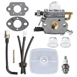 HIPA C1U-K42 Carburetor + Tune Up Kit Air filter for ECHO PB