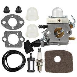 Carburetor with Air Fuel Filter Gasket Primer Bulb For Stihl