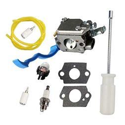 HURI Carburetor with Adjustment Tool Kit Screwdriver Primer